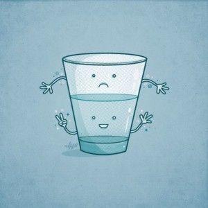 ¿Cómo empezar a ver el vaso medio lleno?