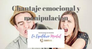 chantaje emocional manipulación emocional